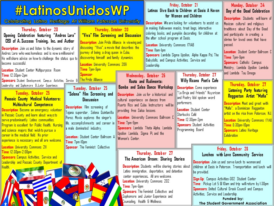 Latino Heritage Calendar of Events 2016 JPEG