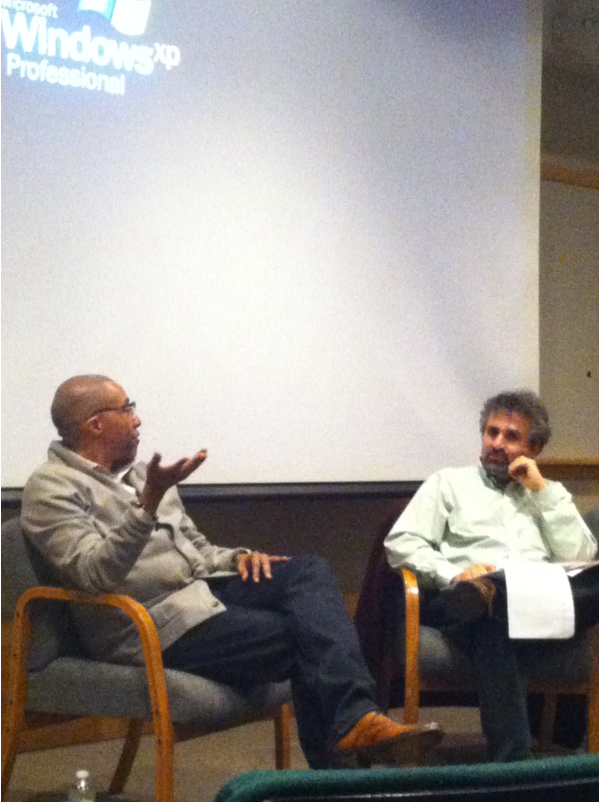 Kevin Liles former President of DefJam Records with Prof. Steve Leeds May 2012