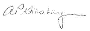 Amy Ginsberg's Signature