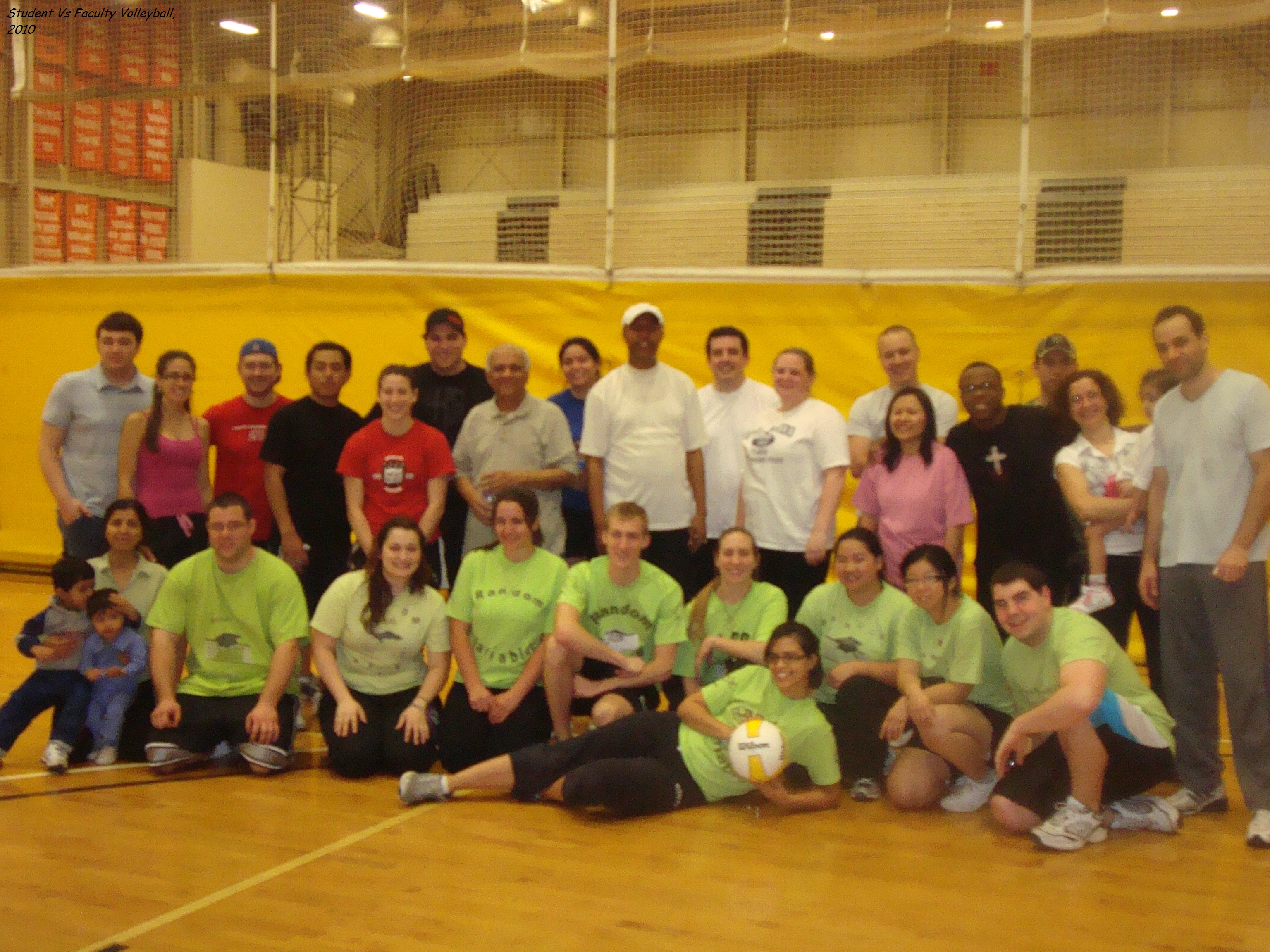 Faculty Vs Students Volleyball