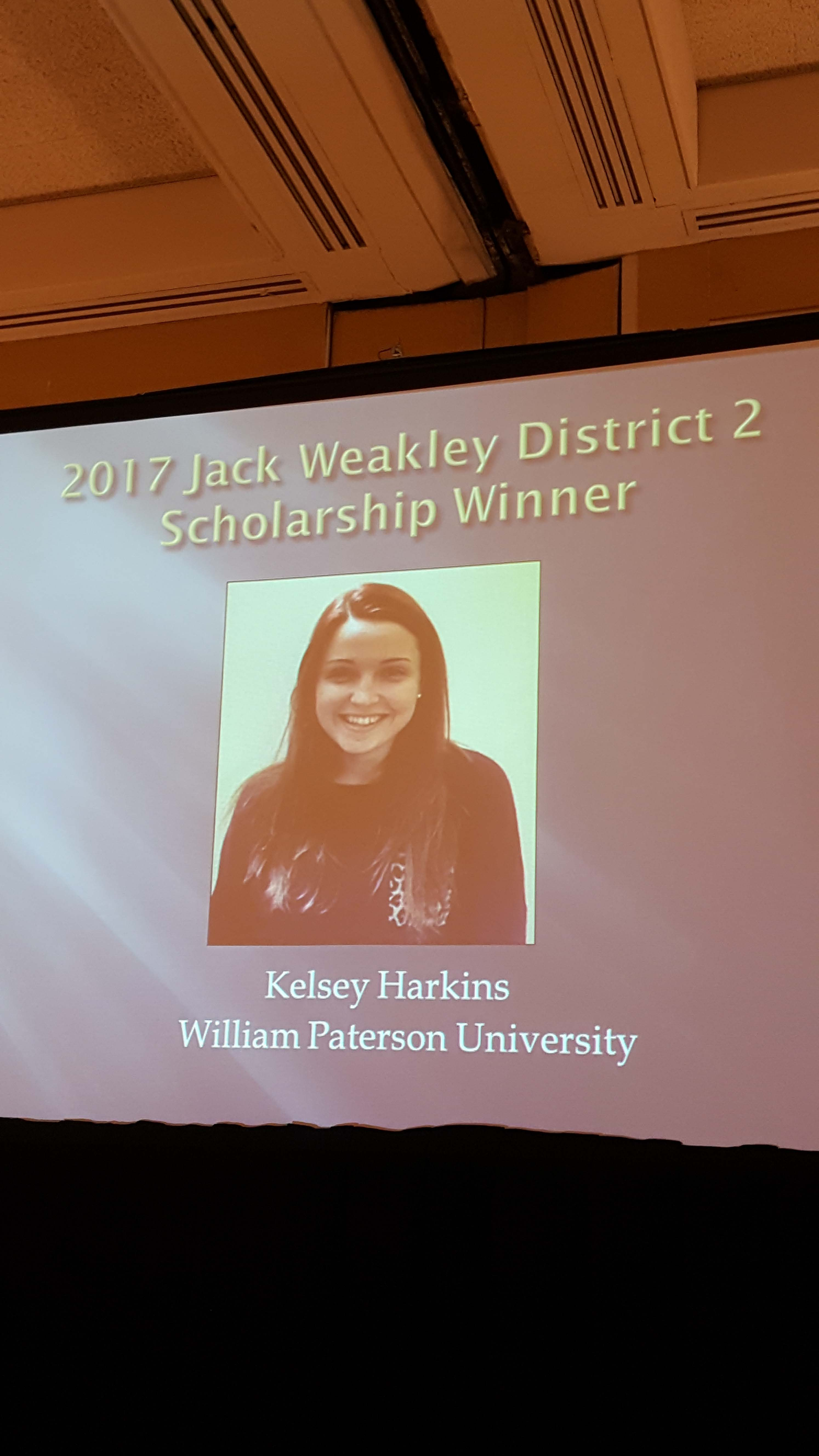 K. Harkins ATSNJ Award2
