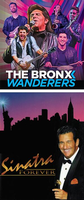 WP Presents! Virtual Wednesdays<br>The Bronx Wanderers and Sinatra Forever<br> (Two 30-Minute Videos) Vegas Night!
