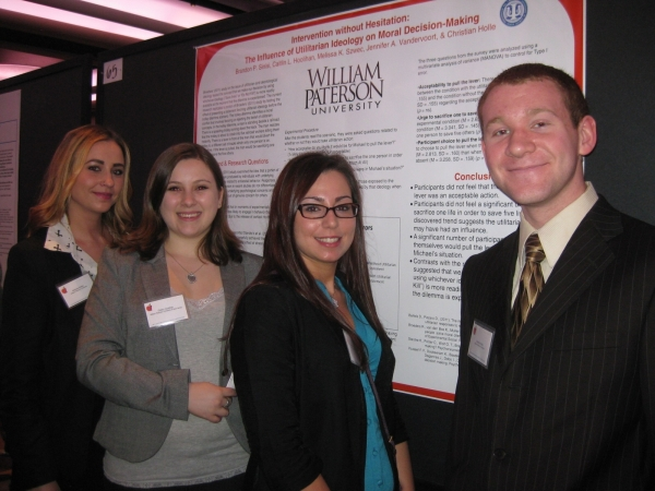 Psi Chi Students at EPA
