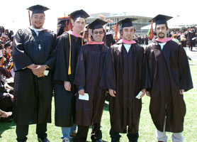 Sound Engineering Arts graduates