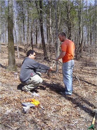 WPU Students Study Fire-Soil Relationships