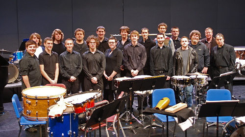 Percussion Studio Group Photo