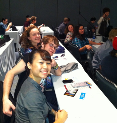 William Paterson University Students at the 2011 NAMM Show.