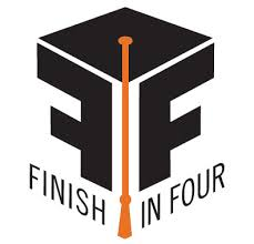Finish in Four Logo