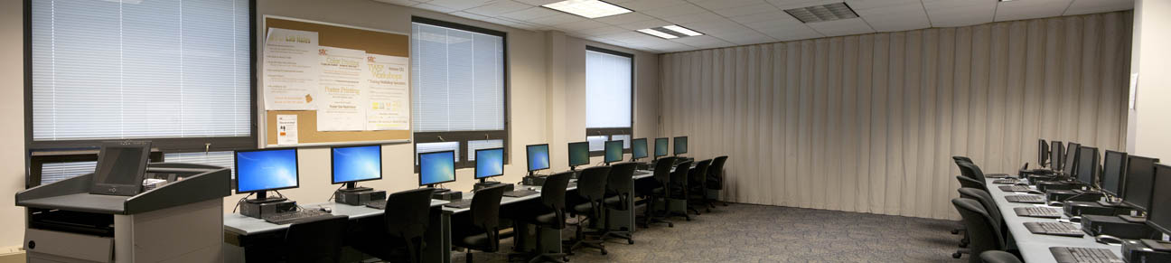 Atrium PC computer lab