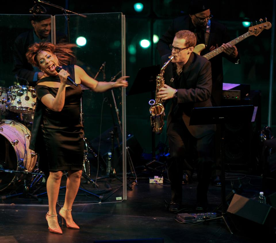 William Paterson alum Todd Schefflin, tearing it up with Valerie Simpson (Ashford & Simpson).