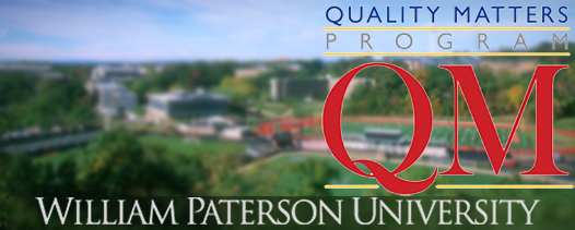 Quality Matters at William Paterson University