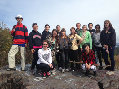 FYS Hike Fall 2013