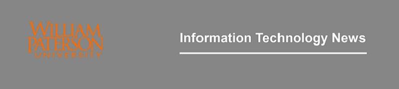 William Paterson University efocus online newsletter