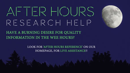 After Hours chat Reference Service