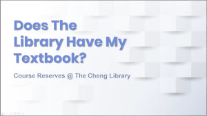 Does the Library Have My Textbook thumbnail image