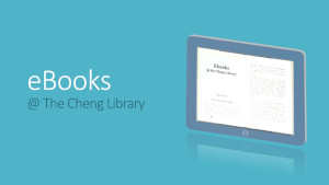 eBooks at the Cheng Library thumbnail image