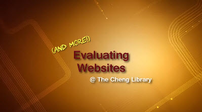 Website Evaluation thumbnail image