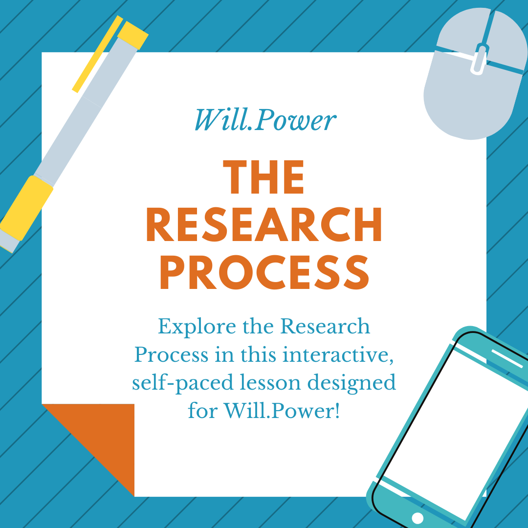 Will Power 102 Research Process activity thumbnail image