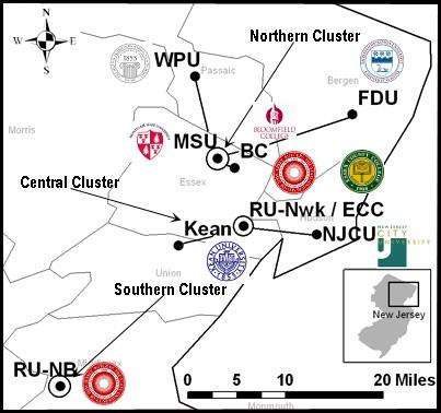 William Paterson University Map WPU GS LSAMP   William Paterson University William Paterson University Map