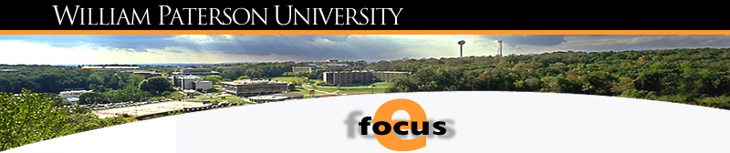 William Paterson University efocus online newsletter