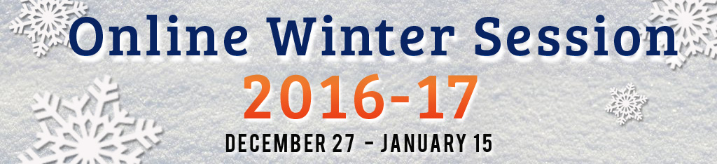 WPUNJ Online Winter Session